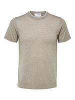 SELECTED HOMME SLHSLIMDALE SS KNIT CREW NECK G
