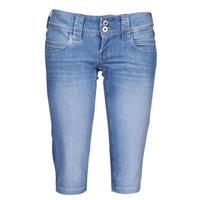 Pepe Jeans Regular fit capri-jeans van katoenmix, model 'Venus'