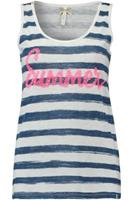 Key Largo Top Summer Blauw