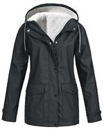 BERRYLOOK Outdoor Waterproof Hooded Jacket