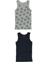 nameit Name It!2-Pack Hemd  - Diverse Kleuren - Katoen/elasthan