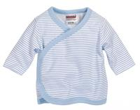 Schnizler shirt Ringel lange mouwen junior blauw/wit