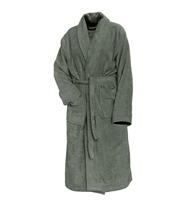 Linnick Pure Badjas Velours - olive green - S