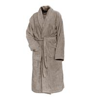 Linnick Pure Badjas Velours - Taupe