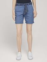 TOM TAILOR Relaxed Chino Bermuda Shorts, sea blue