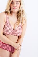 Ulla Popken Grote Maten bustier, Dames, roze,