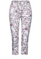 Cecil Casual fit broek in paisley