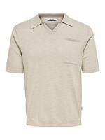 Only and Sons Onsace Life 12 Slub Ss Polo Knit No:
