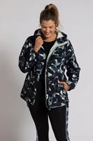 Grote Maten Softshell jas, Dames, wit,