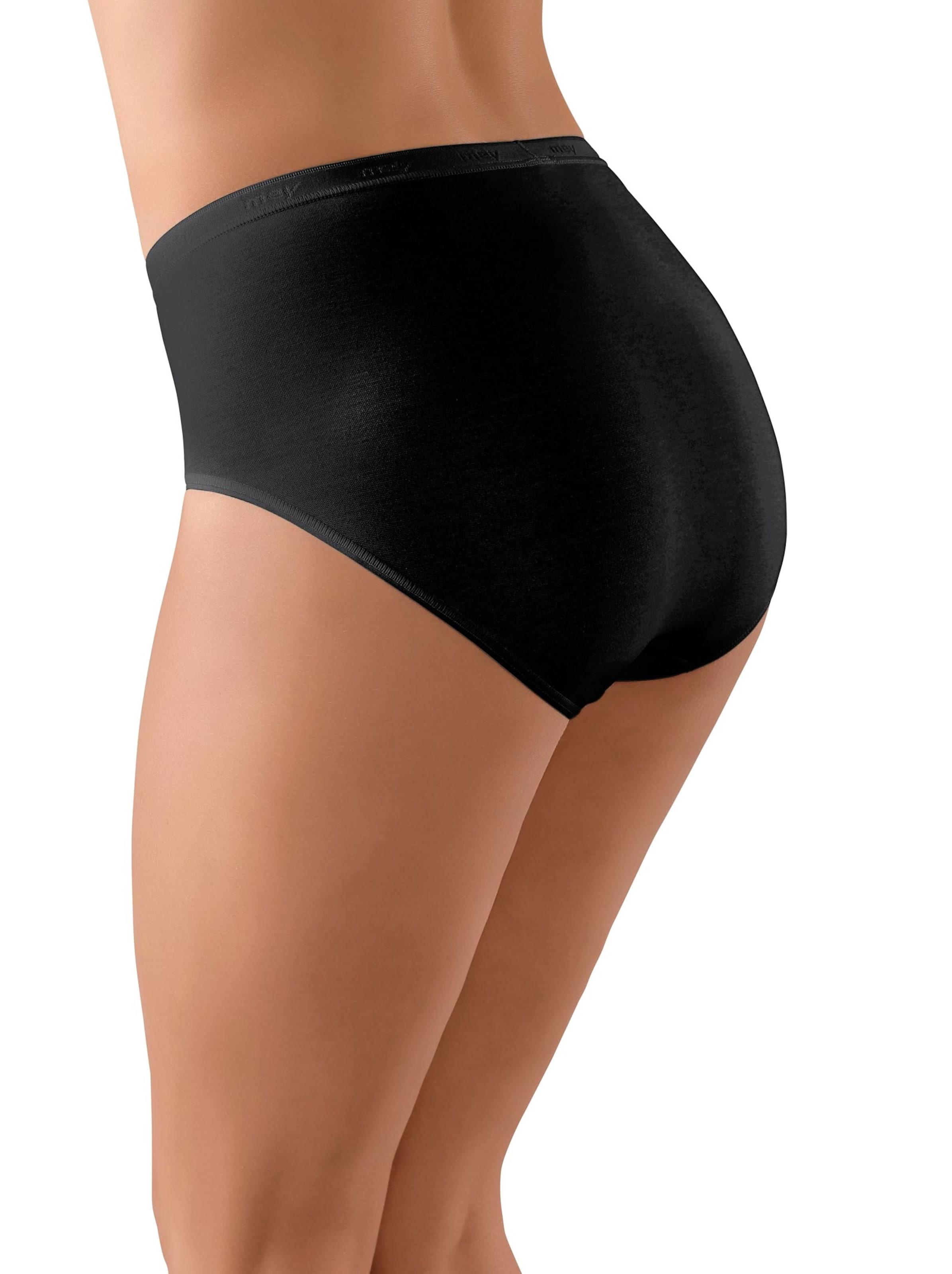 Dames Slip zwart Größe