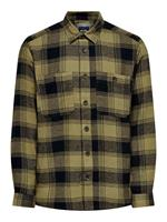 Only and Sons Onsnadal Life Ls Reg Flannel Check :