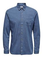 Only and Sons Onstroy Life Ls Stretch Shirt