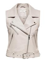 ONLY ONLVERA FAUX LEATHER WAISTCOAT OTW
