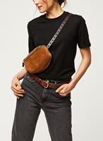 Pcria Ss Fold Up Solid Tee Noos Bc T-shirts Zwart