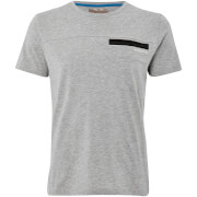 Dissident Men's Adachi T-Shirt - Light Grey Marl - Grijs