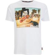 Brave Soul Men's Halfpipe T-Shirt - White - Wit