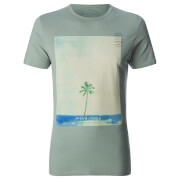 Jack & Jones - Men's Originals Omega T-Shirt - Iceberg Green - Groen