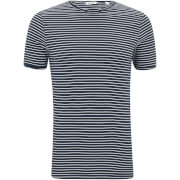 Only & Sons Men's Albert Stripe T-Shirt - Dark Sapphire - Blauw
