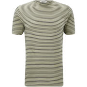 Only & Sons Men's Albert Stripe T-Shirt - Tea - Groen