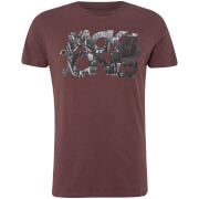 Jack & Jones - Core Men's Scallop T-Shirt - Fudge - Brown