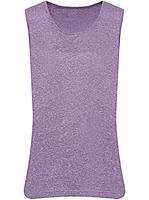 Your look for less! Shirttop, lavendel gemêleerd