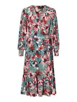 Vero Moda Floral Maxi Dress Dames Green