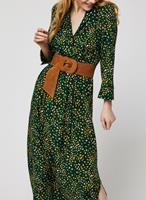 Vila 3/4 Sleeved Maxi Dress Dames Green