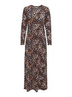 Only Printed Maxi Dress Dames Zwart