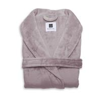 Zo Home Flanel Fleece Badjas Cara - pale pink