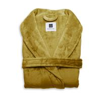Zo Home Flanel Fleece Badjas Cara -  honey gold