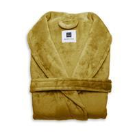 Flanel Fleece Badjas Cara -  honey gold