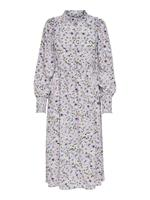 Only Printed Maxi Dress Dames White