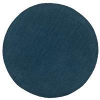 Leen Bakker Vloerkleed Colours - petrol - Ø68 cm