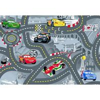 Disneycars Vloerkleed World of Cars II - grijs - 95x133 cm