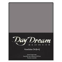 DAY Dream Katoenen hoeslaken 90x200 - Antraciet