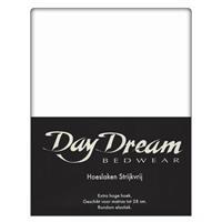 DAY Dream Hoeslaken Katoen Wit-90 x 200 cm