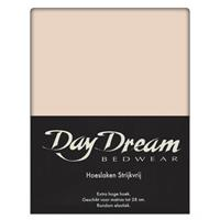 DAY Dream Hoeslaken Katoen Zand-90 x 200 cm