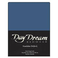 DAY Dream hoeslaken strijkvrij navy