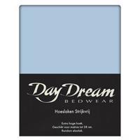 DAY Dream Hoeslaken Katoen Licht Blauw-90 x 220 cm