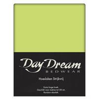 DAY Dream Hoeslaken Katoen Lime Groen-90 x 220 cm