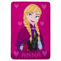 Disney Frozen Fleece Plaid Anna