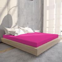 Hoeslaken Jersey 135 gr. Hot Pink Hot Pink 80/90/100 x 200
