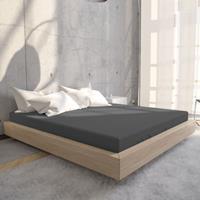 Jersey Hoeslaken Antraciet-90 x 200 cm