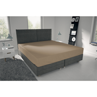 nightlife Single Jersey - Hoeslaken Camel 80/90 x 200 + 30 cm