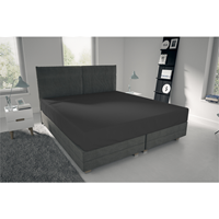 nightlife Jersey Hoeslaken Antraciet-80/90 x 200 cm