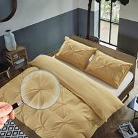 Hotel Home Brighton - Zand - 140 x 200/220 Dekbedovertrek