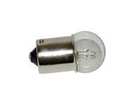 Lamp 12V 10W Ba15S remlicht Zip Rood