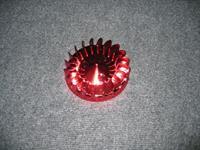 Koelvin Minarelli Rood Anodised  (Ventilator)