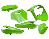 plaatwerkset vivacity 6dlg kawasaki-groen