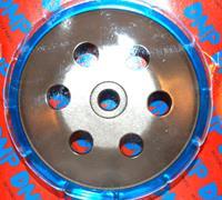 Koppelingshuis race Piaggio blauw DMP op=op